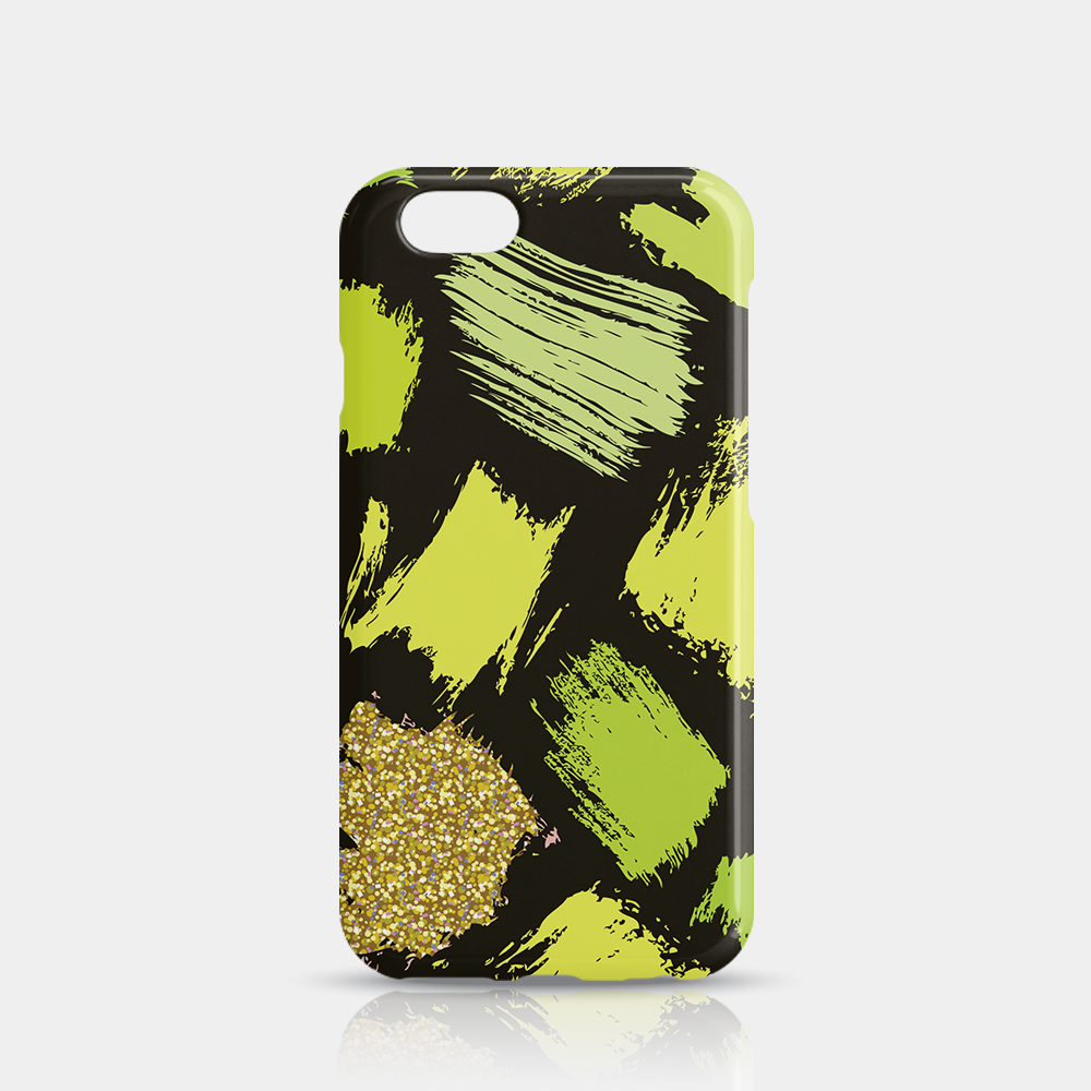 Green Gold Slim iPhone 6/6S Case - iKaracase