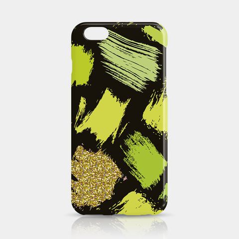 Green Gold Slim iPhone 6/6S Plus Case - iKaracase