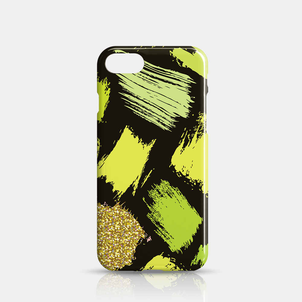 Green Gold Slim iPhone 7/8 Case - iKaracase