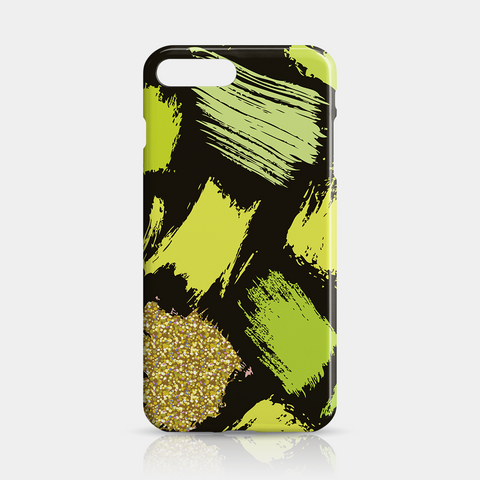 Green Gold Slim iPhone Case 7 Plus - iKaracase