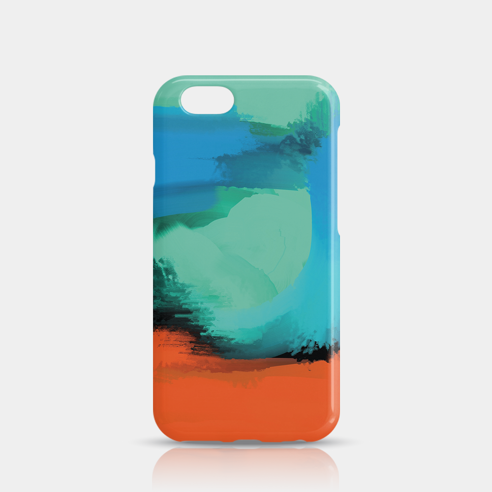 Modern Art Slim iPhone 6/6S Case - iKaracase