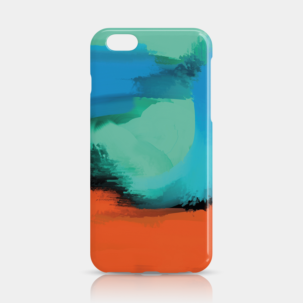 Modern Art Slim iPhone 6/6S Plus Case - iKaracase