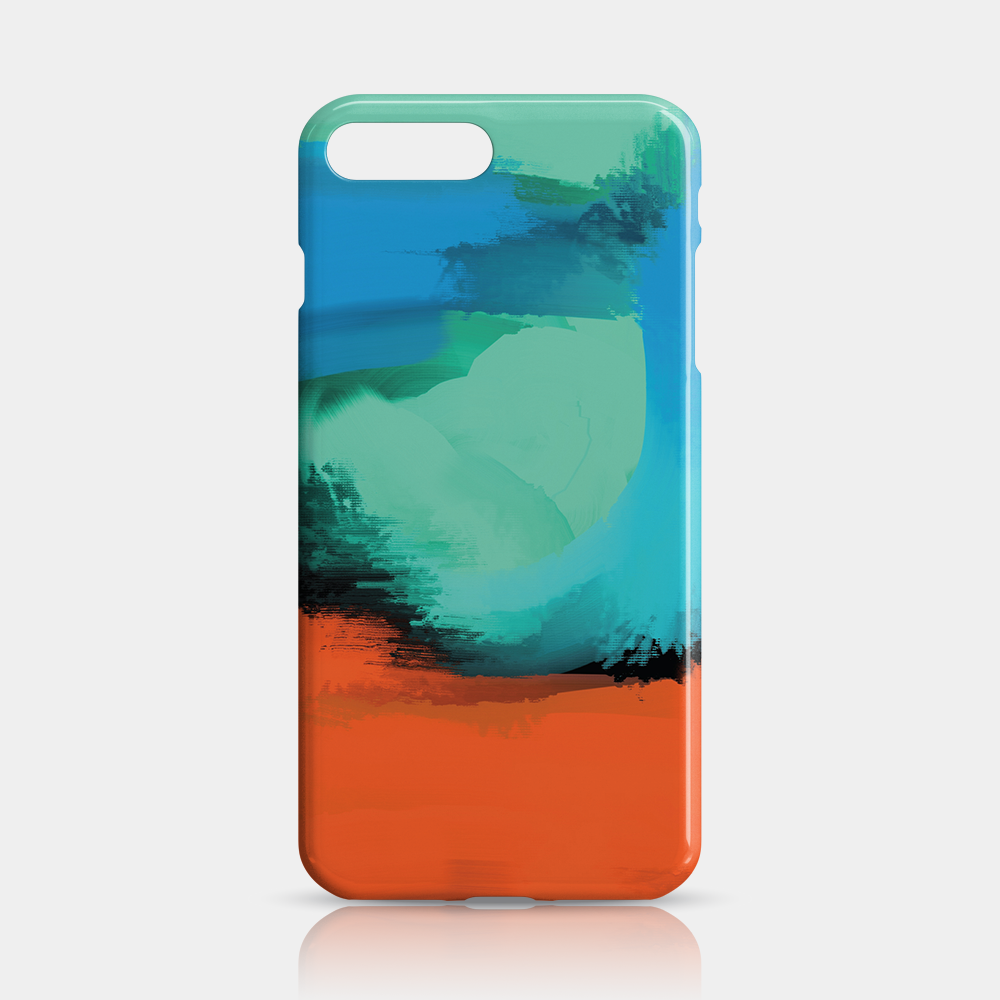 Modern Art Slim iPhone 7/8 Plus Case - iKaracase