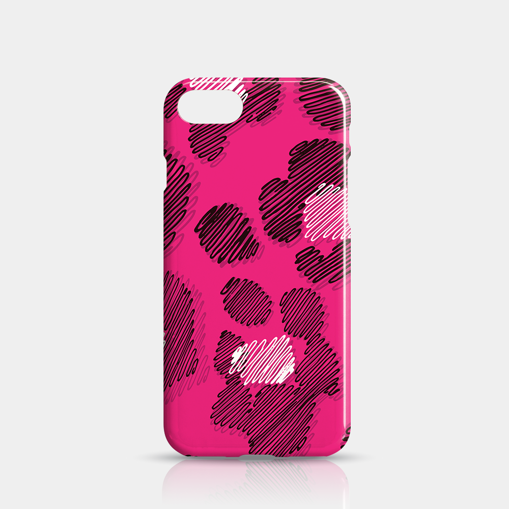 Pink Leopard Skin Slim iPhone Case 7/8 - iKaracase
