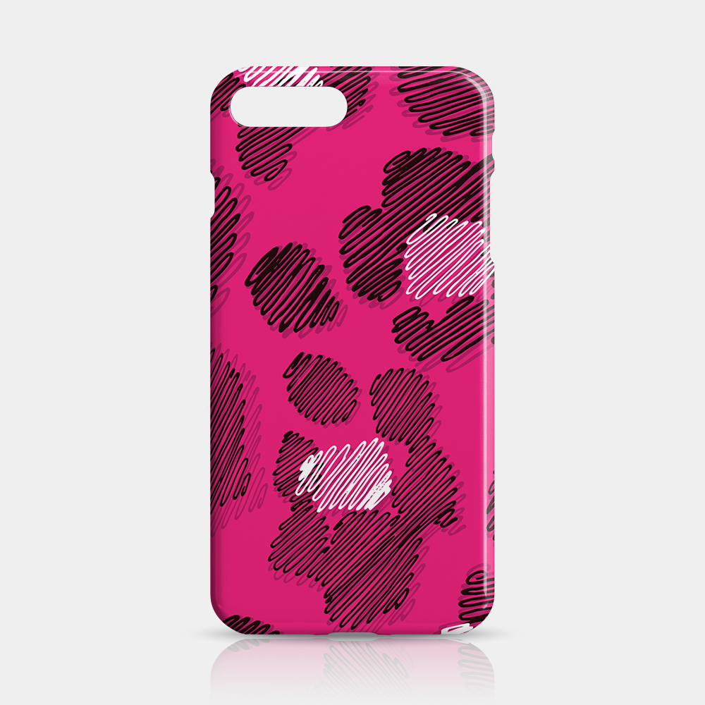 Pink Leopard Skin Slim iPhone Case 7/8 Plus - iKaracase