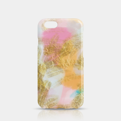 Gold Pink Slim iPhone 6/6S Case - iKaracase