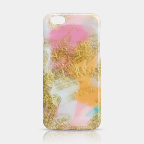 Gold Pink Slim iPhone 6/6S Plus Case - iKaracase