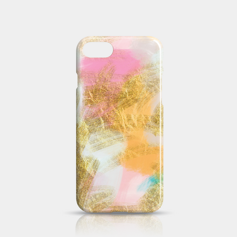 Gold Pink Slim iPhone 7/8 Case - iKaracase