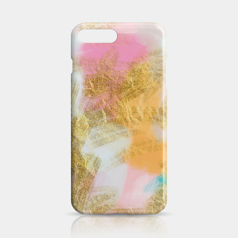 Gold Pink Slim iPhone Case 7 Plus - iKaracase