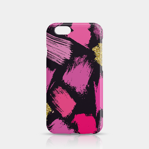 Pink Gold Purple Slim iPhone 6/6S Case - iKaracase