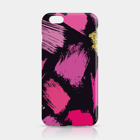 Pink Gold Purple Slim iPhone 6/6S Plus Case - iKaracase