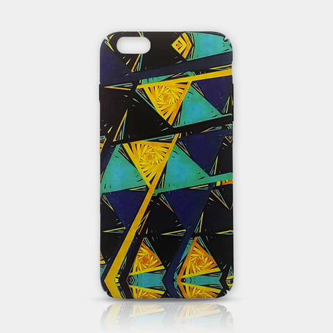 Geometric Art Slim iPhone 6/6S Plus Case - iKaracase