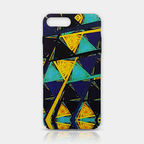 Geometric Art Slim iPhone 7/8 Plus Case - iKaracase