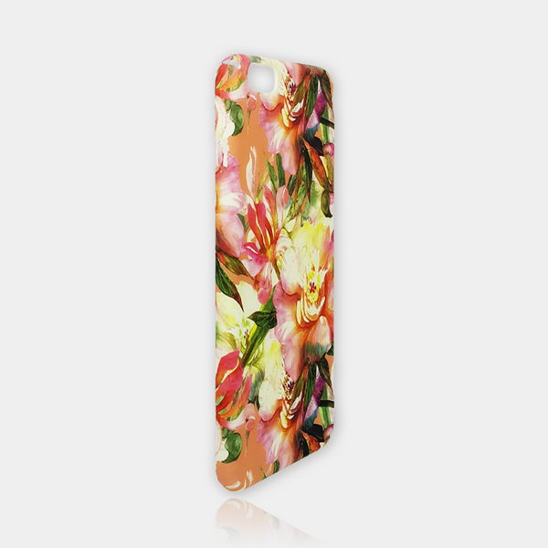 Vintage Flower Slim iPhone Case 6/6S Plus - iKaracase