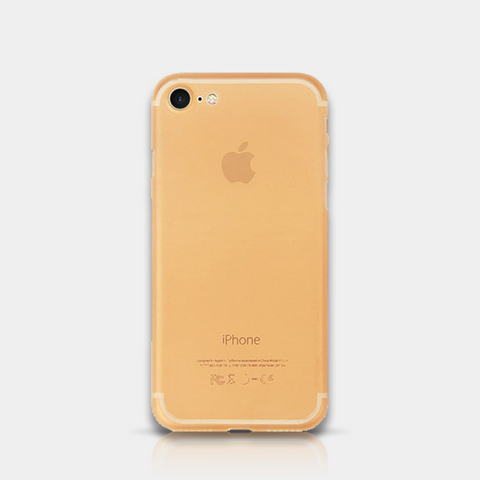 Thin iPhone Case 7 Gold