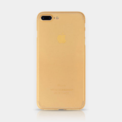 Thin iPhone Case 7 Plus Gold
