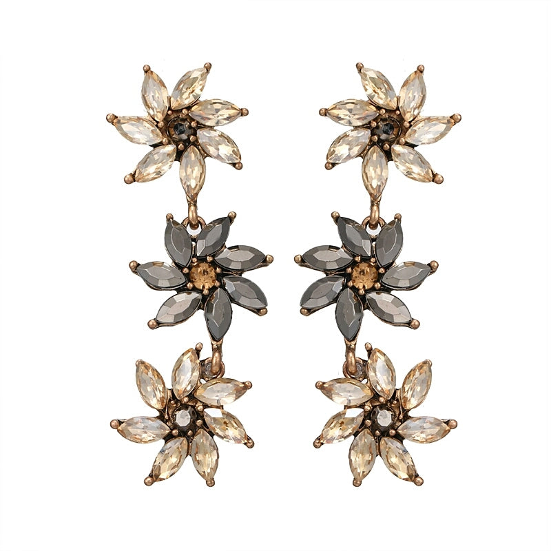 FLORAL AFFAIR: BRONZE CRYSTAL