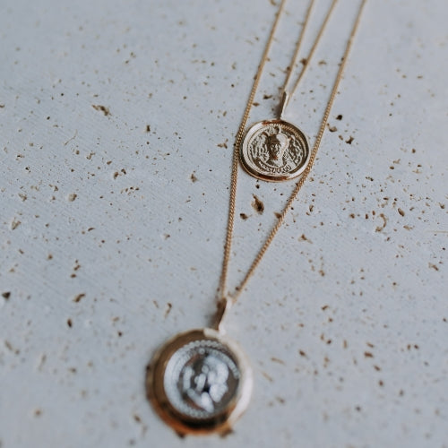 HALO: COIN NECKLACE