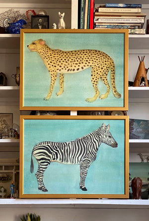 'Cheetah' and 'Zebra' -per piece