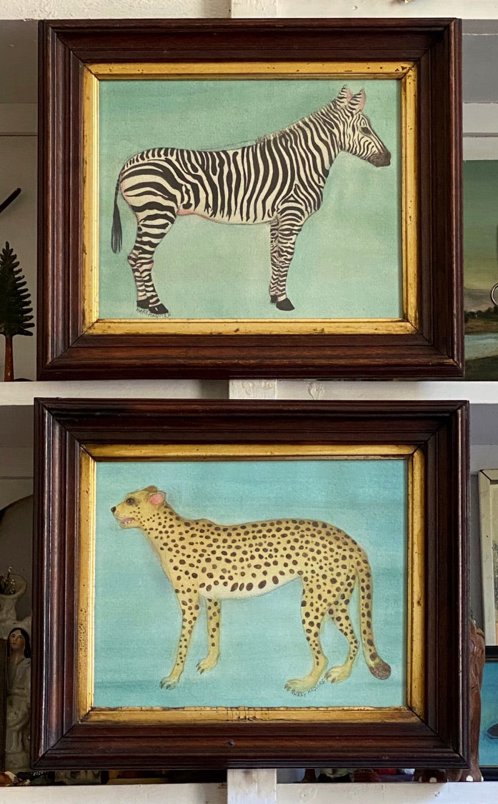 'Cheetah and Zebra' -per piece