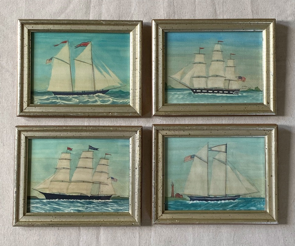 Quartet of Ships -per piece