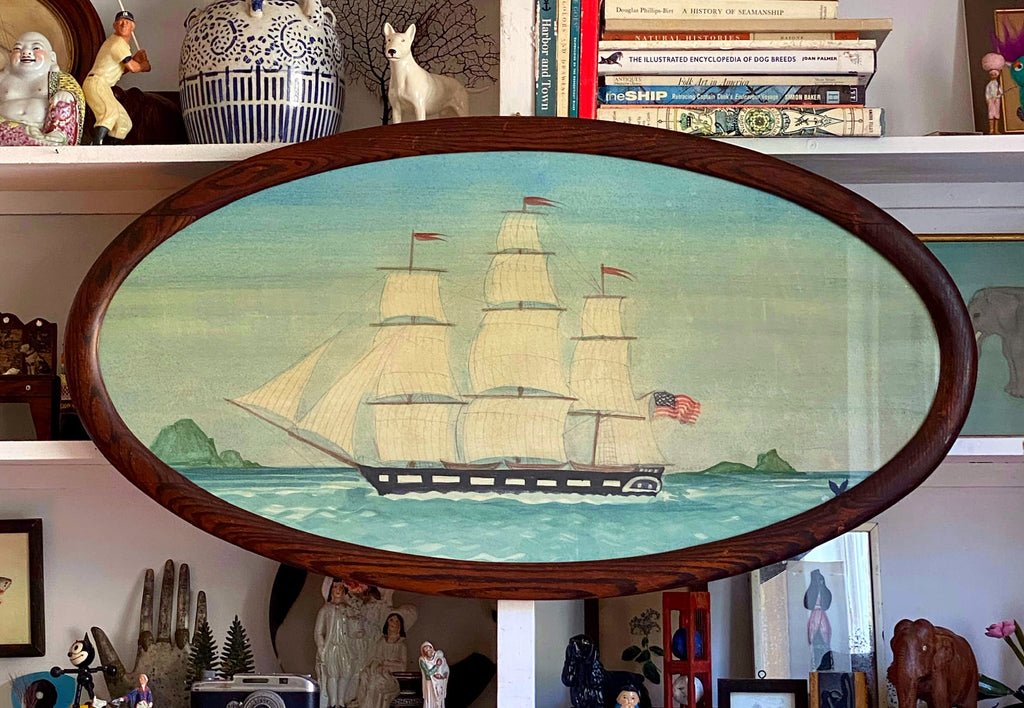 'Whaleship Monticello of Nantucket'