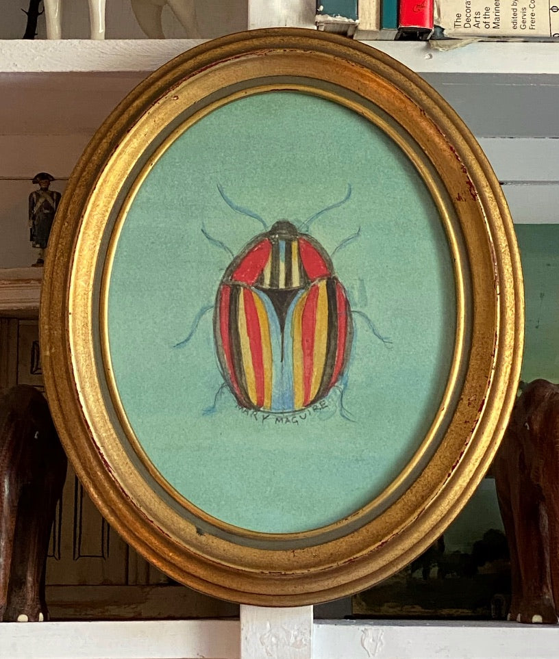 Multi-Color Striped Beetle