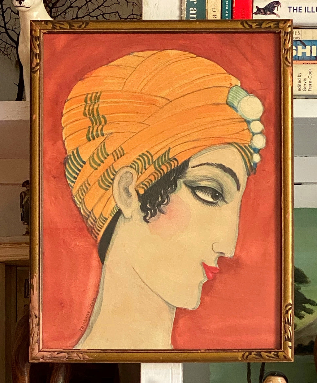 '1920's Girl in a Turban'