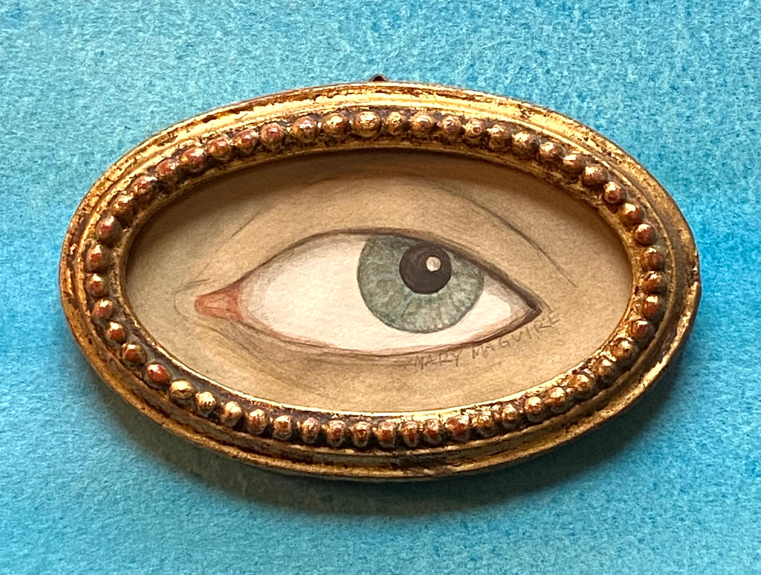 Beaded Gold 'Lover's Eye'