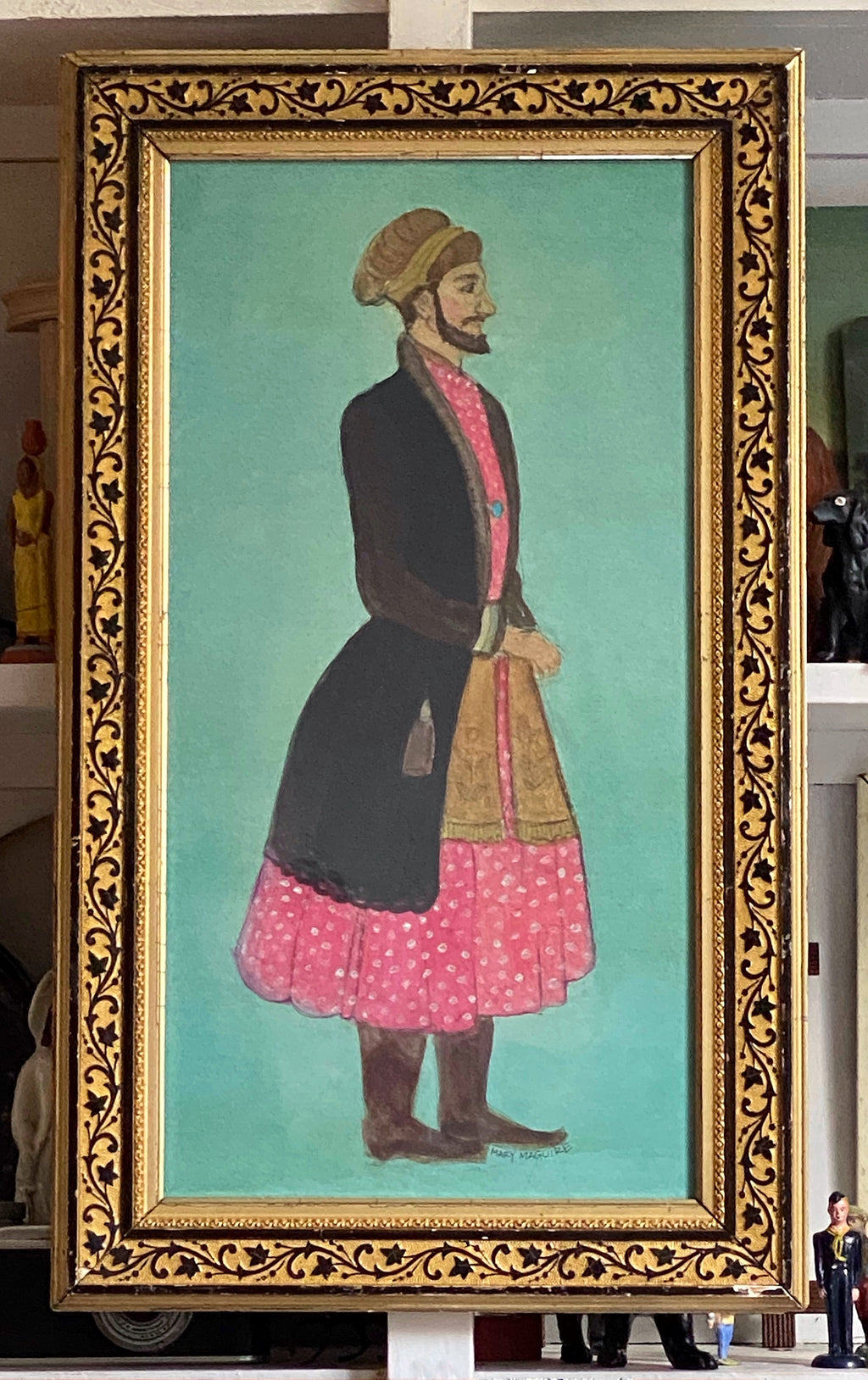 'Bearded Indian Prince'