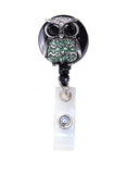 owl badge reel, nurse badge reel, badge holder