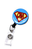 cute badge reel
