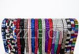 Colored Bling Rhinestone Wristlets