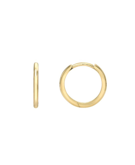 Small 14k Gold Huggies