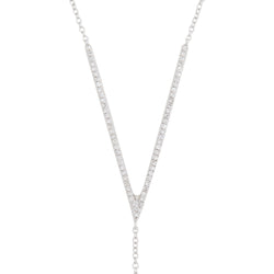Lariat Victory Necklace