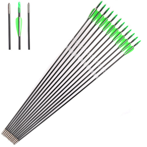 Hunting Fiberglass Arrows 12pc