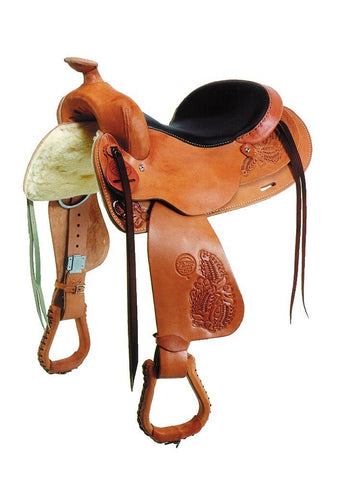 The Colorado Saddlery Bear Valley Trail Master Saddle