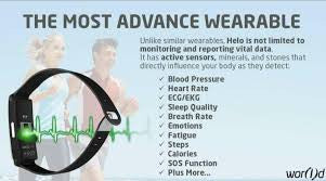 HELO LX Health Tracker benefits