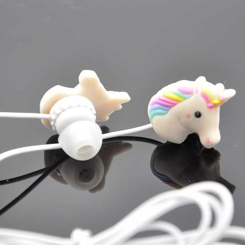 Girls 3.5mm Wired Stereo Earphone with Microphone