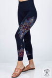 Mandala Accent Leggings