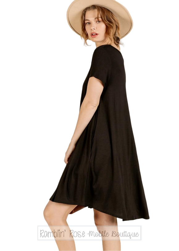 Essential Short Sleeve T-Shirt Dress