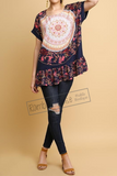 Floral Medallion Top