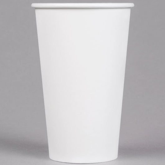 16OZ Paper Hot Cups 25 Count