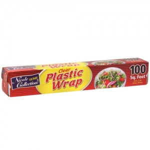 Clear Plastic Wrap 100sq Feet