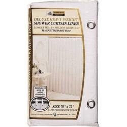 Deluxe Vinyl Shower Curtain Liner 70 IN X 72 IN