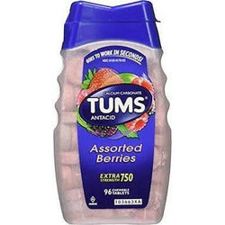 Tums Ultra Strength 1000MG Tablets Assorted Berries 72 Tablets