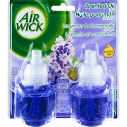 Air Wick Oil Refills Lavender & Chamomile 2 Pack