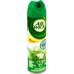 Air Wick Aerosol Spray Air Freshener Rain Garden 8 OZ Aerosol Can