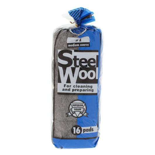 #2 COARSE STEELWOOL 16PAD