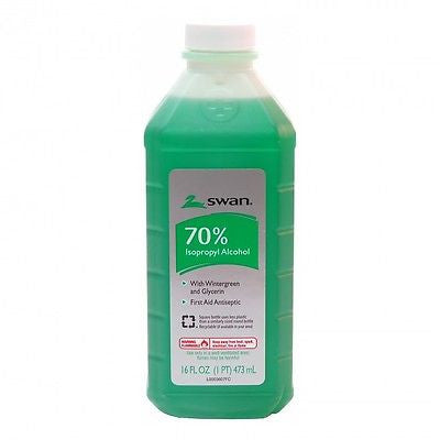 Isopropyl Alcohol 70% With Wintergreen and Glycerin 16 oz